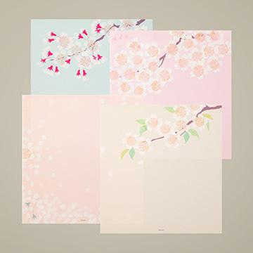 「紙シリーズ」桜