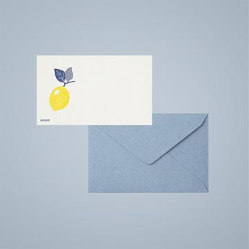 活版印刷のミニカードセット