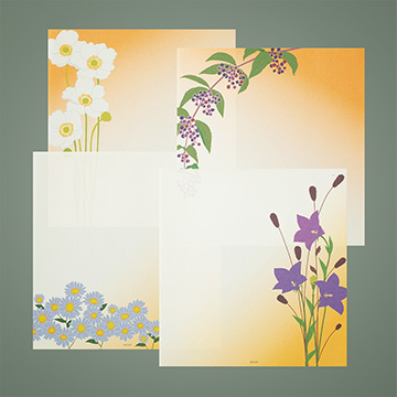 「紙シリーズ」秋