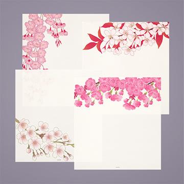 「紙シリーズ」春