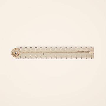 「ミドリ」70周年限定 マルチ定規<30cm>